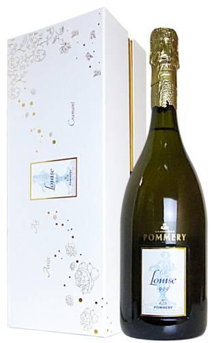 【豪華ギフト箱入り】ルイーズ ポメリー キュヴェ ルイーズ ミレジム 1999 ギフト 箱付 直輸入 泡 白 シャンパーニュ シャンパン ワイン 辛口 750mlChampagne Pommery Cuvee Louise Pommery Vintage [1999] AOC Millesime Champagne Gift Box