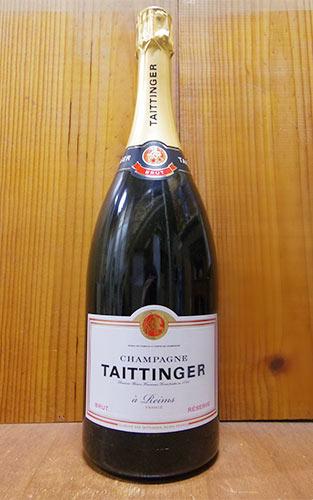 シャンパン テタンジェ ブリュット レゼルヴ 箱入り 正規 1500ml (フランス シャンパーニュ 白)