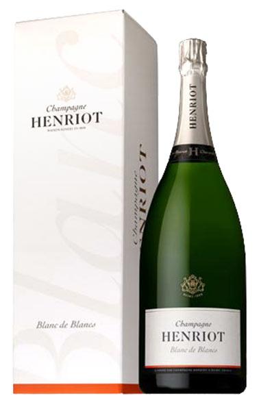 【大型マグナムサイズ】アンリオ ブラン ド ブラン ブリュット 箱付 (箱入) 大型MGサイズ AOCシャンパーニュ ギフト フランス シャンパン 泡 1500mlHenriot Blanc de Blancs Brut AOC Champange M.G