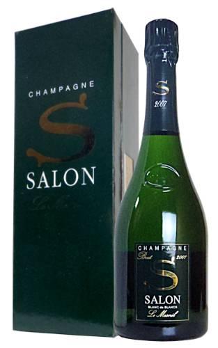 【箱入】サロン シャンパーニュ ブラン ド ブラン ミレジム 2007 正規 フランス AOCミレジム シャンパーニュ 白 ワイン 辛口 泡 シャンパン 750ml (サロン・シャンパーニュ)SALON CHAMPAGNE BLANC DE BLANCS (Le Mesnil) Brut Millesime [2007] AOC Millesime Champagne