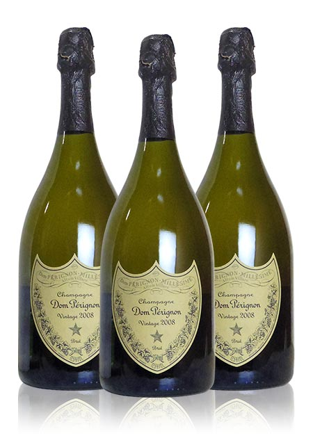 【送料無料】【3本セット】ドン ペリニョン 2008 モエ エ シャンドン 正規 泡 白 辛口 シャンパン シャンパーニュ 750ml ワイン (ドン・ペリニョン) (ドンペリニョン) (ドン・ペリニヨン) (ドンペリ) Dom Perignon [2008] Moet et Chandon AOC Millesime Champagne 3set