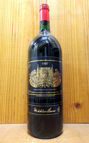 【大型ボトル】シャトー パルメ 1997 (シャトー・パルメ) フランス ボルドー AOCマルゴー メドック グラン クリュ クラッセ 公式格付第三級 マグナムサイズ 赤ワイン ワイン 辛口 フルボディ 1500mlChateau Palmer [1997] AOC Margaux Grand Cru Classe du Medoc en 1855