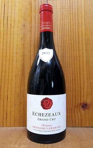 エシェゾー グラン クリュ 特級 2012 ドメーヌ フランソワ ラマルシュ 重厚ボトル 全品ラベルにロットナンバー入り 赤ワイン ワイン 辛口 フルボディ 750mlEchezeaux Grand Cru [2012] Domaine Francois Lamarche AOC Echezeaux Grand Cru