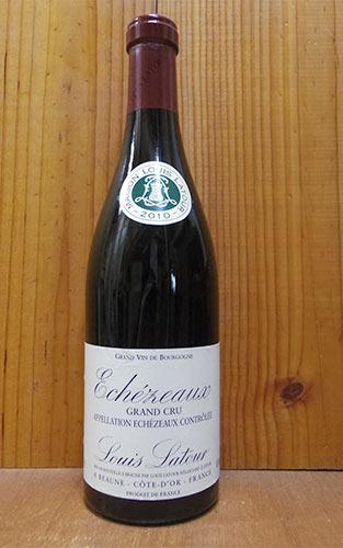 エシェゾー グラン クリュ 2010 ルイ ラトゥール 赤ワイン ワイン 辛口 フルボディ 750ml (ルイ・ラトゥール)Echezeaux Grand Cru [2010] Louis Latour AOC Echezeaux Grand Cru