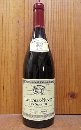シャンボール ミュジニー プルミエ クリュ 一級 センティエ 2009 ルイ ジャド 赤ワイン ワイン 辛口 フルボディ 750ml (ルイ・ジャド)Chambolle Musigny 1er Cru Sentiers [2009] Louis Jadot AOC Chambolle Musigny 1er Cru