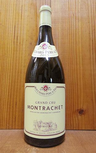 【大型ボトル】モンラッシェ グラン クリュ 特級 2015 マグナムサイズ ドメーヌ ブシャール ペール エ フィス 赤ワイン ワイン 辛口 フルボディ 1500ml 1.5LMontrachet Grand Cru [2015] M.G Domaine Bouchard Pere & Fils AOC Montrachet Grand Cru