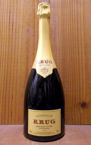 クリュッグ シャンパーニュ グラン キュヴェ ブリュット (エディション167or168) 正規 泡 白 シャンパン ワイン 辛口 750mlKRUG Champagne Grande Cuvee Brut AOC Champagne