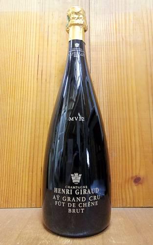 【大型マグナムボトル】アンリ ジロー シャンパーニュ キュヴェ フュ ド シェーヌ マルチ ヴィンテージ (M.V.12) グラン クリュ 特級 泡 白 シャンパン ワイン 辛口 マグナムサイズ 1500ml 1.5L (アンリ・ジロー)HENRI GIRAUD Champagne Grand Cru Ay Fut de Chene
