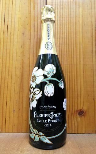 ペリエ ジュエ ベル エポック ブラン シャンパーニュ ヴィンテージ 2012 正規 泡 白 シャンパン ワイン 辛口 750ml (ペリエ・ジュエ)PERRIER JOUET Cuvee BELLE EPOQUE Fleur de Champagne Millesime [2012] AOC (Millesime)