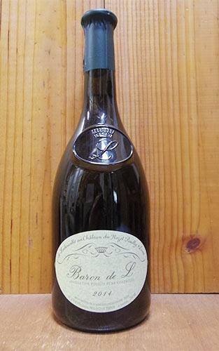 プイイ フュメ バロン ド エル (L) 2014 ドメーヌ ド ラドゥセット家 シャトー デュ ノゼ元詰 白ワイン ワイン 辛口 750mlPouilly Fume Baron de L [2014] de Ladoucette (Chateau du Nozet) AOC Pouilly Fume