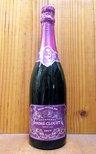 アンドレ クルエ シャンパーニュ グラン クリュ ドリーム ヴィンテージ 2004 正規 フランス AOCミレジム グラン クリュ シャンパーニュ 白ワイン 辛口 泡 シャンパン 750ml (アンドレ・クルエ)ANDRE CLOUET Champagne Grand Cru Brut Dream Vintage [2004]