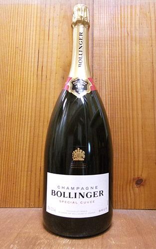 【大型サイズ】ボランジェ シャンパーニュ スペシャル キュヴェ ブリュット ギフト 正規 泡 白 シャンパン ワイン 辛口 マグナムサイズ 1500ml 1.5LBOLLINGER Champagne Special Cuvee Brut M.G AOC Champagne