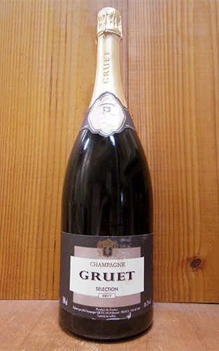 【大型サイズ】グルエ シャンパーニュ セレクション ブリュット マグナムサイズ 正規 白 泡 シャンパン スパークリング 1500ml 1.5L
