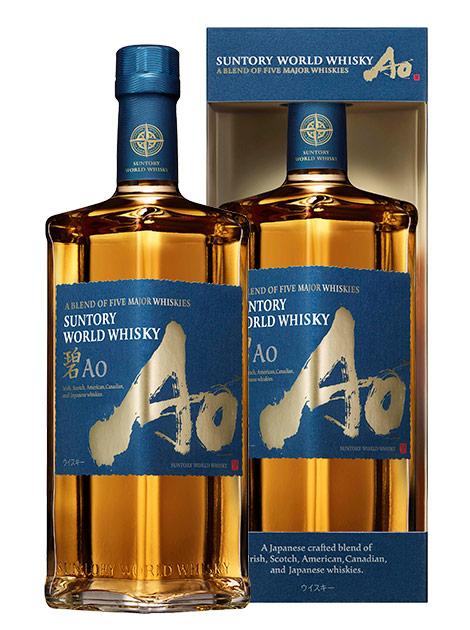 【送料無料】【箱入・正規品】サントリー ワールドウイスキー 碧(Ao) 700ml 43% ハードリカーSuntory World Whisky A Blemd Of Five Maior Whisky Ao