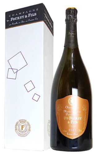 ヴーヴ フルニ シャンパーニュ モン ド ヴェルテュ ミレジム 2011 プルミエ クリュ 一級 エクストラ ブリュット 箱入 正規 泡 白 シャンパン ワイン 辛口 1500ml 1.5LVve FOURNY & Fils Champagne Montes de Vertus Millesime [2011] MG Gift Box