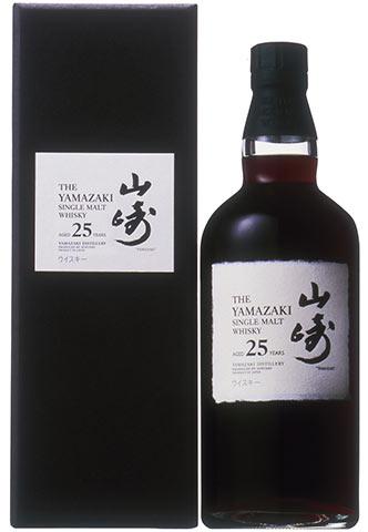 サントリー山崎 25年 シングル モルト ウイスキー 正規 箱付 ギフト ジャパニーズウイスキー 700ml 43%
