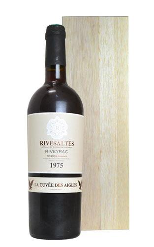【豪華木箱入】リヴザルト ラ キュヴェ デ ザイグレ 1975 リヴェイラック社元詰 AOCリヴザルト 豪華木箱入り (2014年瓶詰) フランス 赤ワイン ワイン 甘口 750ml