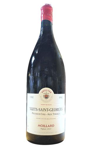 超大型ボトル ニュイ サン ジョルジュ プルミエ クリュ 一級 オー トレイ 1982 古酒 モワラール社 (シャルル トマ & モワラールグループ) 大型 3000ml 3L 正規 赤ワイン ワイン 辛口 フルボディNuits Saint Georges 1er Cru Aux Thorey [1982] Moillard