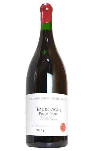 【大型特大ボトル】ブルゴーニュ ピノ ノワール ヴィエイユ ヴィーニュ 2014 ロッシュ ド ベレーヌ (ニコラ ポテル) 大型ジェロボアム 3000ml (3Lサイズ) ロウ封印ボトル フランス 赤ワイン ワイン 辛口 ミディアムボディ 3L