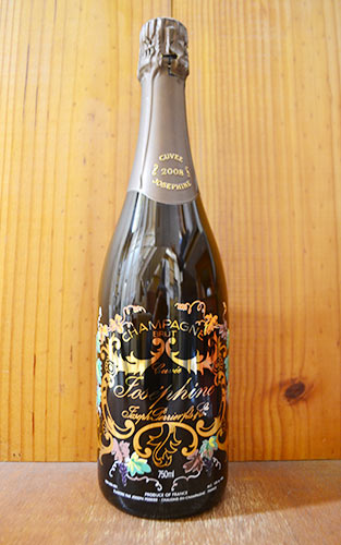 ジョセフ ペリエ シャンパーニュ キュヴェ ジョセフィーヌ ブリュット ミレジム 2008 AOCミレジム シャンパーニュ 正規品 フランス シャンパン 白 泡 辛口 ワイン 750mlJOSEPH PERRIER Champagne Cuvee Josephine Brut Vintage [2008]