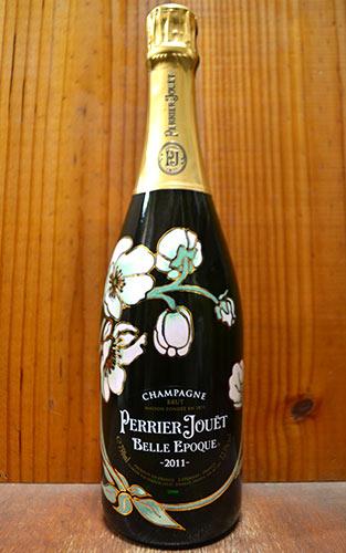 【お一人様6本限り】ペリエ ジュエ ベル エポック ブラン シャンパーニュ ヴィンテージ 2011 正規 泡 白 シャンパン ワイン 辛口 750ml (ペリエ・ジュエ)PERRIER JOUET Cuvee BELLE EPOQUE Fleur de Champagne Millesime [2011]
