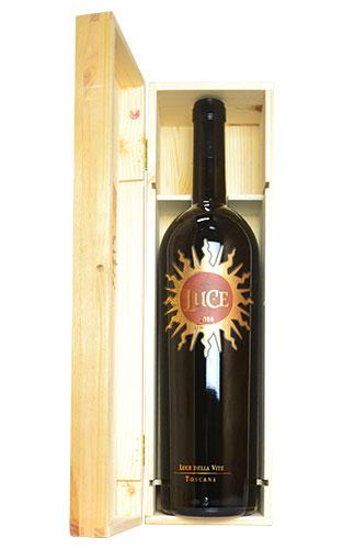 【豪華木箱入】大型ボトル ルーチェ 2014 マグナムサイズ ルーチェ デッラ ヴィーテ元詰 正規 赤ワイン ワイン 辛口 フルボディ 1500ml 1.5LLUCE [2014] M.G Luce della Vite IGT Toscana