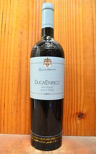 ドゥーカ エンリコ 1984 ファーストヴィンテージ ドゥーカ ディ サラパルータ (コルヴォと同経営) 正規 赤ワイン ワイン 辛口 フルボディ 750mlDuca Enrico [1984] Duca di Salaparuta (IGT Sicilia Rosso)