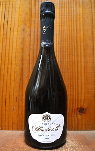 ヴィルマール エ シエ シャンパーニュ クール ド キュヴェ ブリュット ミレジム 2009 泡 白 シャンパン ワイン 辛口 750ml (ヴィルマール・エ・シエ)Vilmart & Cie Champagne COEUR de Cuvee 1er Cru Brut Millesime [2009] R.M a Rilly la Montagne (94%)