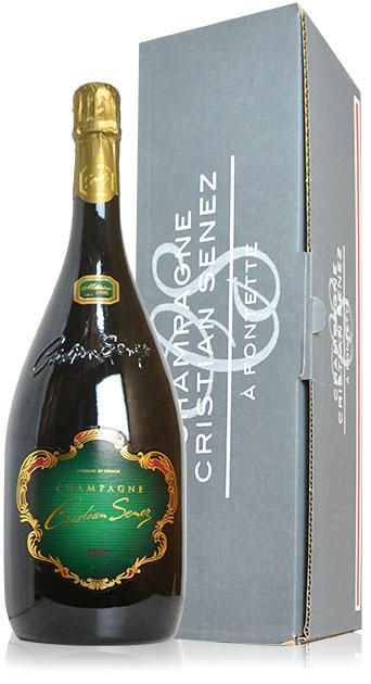 【ギフト箱入り】クリスチャン セネ シャンパーニュ ブリュット ミレジム 1995 大型マグナムサイズ AOCミレジム シャンパーニュ 正規品 泡 白 シャンパン ワイン 辛口 1500mlCRISTIAN SENEZ Champagne Brut Millesime [1995] M.G. AOC Millesime Champagne