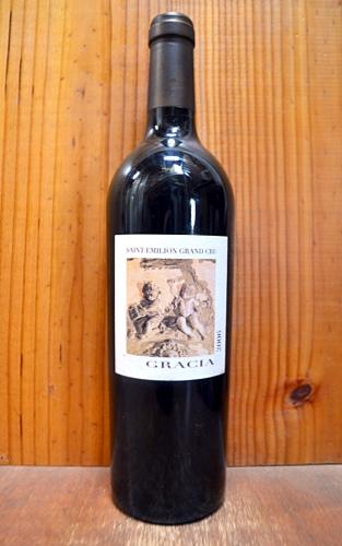 シャトー グラシア 2006 赤ワイン ワイン 辛口 フルボディ 750mlChateau GRACIA[2006] AOC Saint-Emilion Grand Cru