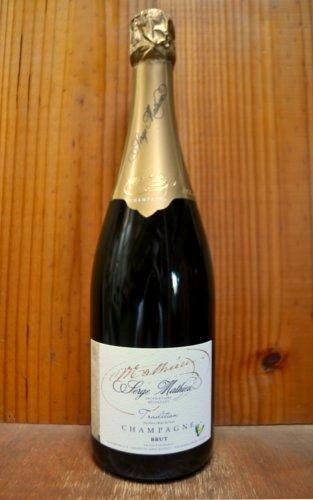 セルジュ マチュー シャンパーニュ キュヴェ ピュール ピノ トラディション ブラン ド ノワール ブリュット R.M. AOC (ブラン ド ノワール) シャンパーニュ 泡 白 シャンパン ワイン 辛口 750ml