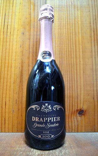 ドラピエ グラン サンドレ ロゼ ブリュット ヴィンテージ 2010 AOCミレジム ロゼ シャンパーニュ 正規品 泡 ロゼ シャンパーニュ シャンパン ワイン 辛口 750mlDRAPPIER Champagne Grande Sendree Rose Brut Millesime [2010] AOC Millesime Champagne