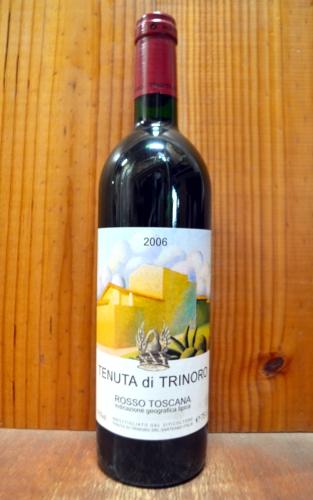 テヌータ ディ トリノーロ 2006 超限定輸入品 IGTロッソ トスカーナ テヌータ ディ トリノーロ元詰 (アンドレア フランケッティ) 赤ワイン ワイン 辛口 フルボディ 750mlTENUTA di TRINORO [2006] IGT Rosso Toscana
