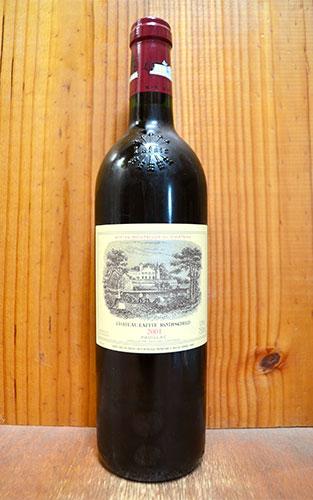 シャトー ラフィット ロートシルト 2001 メドック プルミエ グラン クリュ クラッセ 格付第一級 AOCポイヤック 赤ワイン ワイン 辛口 フルボディ 750mlChateau Lafite Rothschild [2001] 1er Grand Cru Classe du Medoc en 1855 AOC Pauillac
