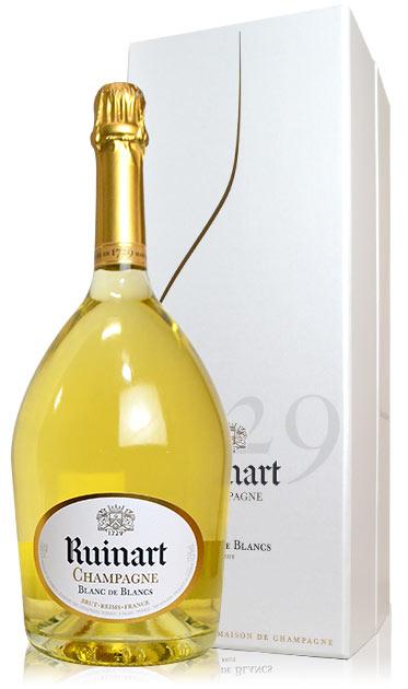 【大型マグナムサイズ】ルイナール (リュイナール) ブラン ド ブラン 箱付 ギフト 白 泡 マグナム 1500ml シャンパン シャンパーニュRuinart Champagne Blanc de Blancs Brut (M.G)