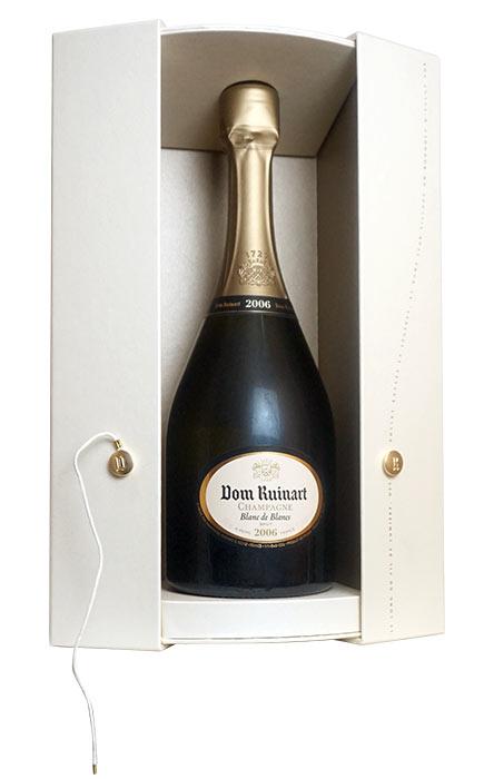 【豪華箱入】ドン ルイナール シャンパーニュ グラン クリュ 特級 ミレジム 2006 ブラン ド ブラン ギフト 箱付 正規 泡 白 シャンパン ワイン 辛口 750ml (ドン リュイナール)Dom Ruinart Champagne Grand Cru Millesime [2006] AOC Millesime Champagne