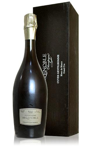 【豪華箱入】AR ルノーブル グラン クリュ ジャンティオム ミレジム 2009 ブラン ド ブラン 箱付 ギフト 泡 白 シャンパーニュ シャンパン ワイン 辛口 750mlA.R. Lenoble Cuvee Gentilhomme Millesime [2009] Grand Cru Blanc de Blancs Gift Box