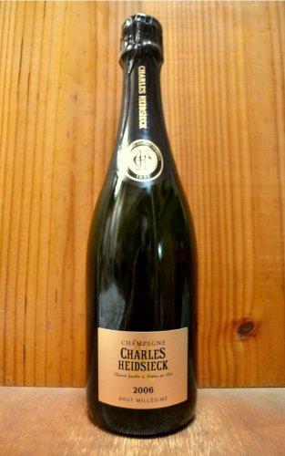 シャルル エドシック ブリュット ヴィンテージ 2006 泡 白 辛口 シャンパン シャンパーニュ 750mlCharles Heidsieck Brut Vintage [2006] Charles Heidsieck AOC Millesime Champagne