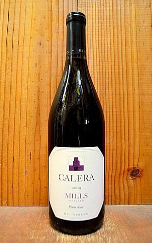 ずっと気になってた カレラ ミルズ ヴィンヤード マウント ハーラン ピノ ノワール 2009 正規代理店輸入品 赤ワイン ワイン 辛口 ミディアムボディ 750mlCALERA Mills Vineyard Mt.Harlan Pinot Noir [2009], イーカプコン 08b555ad