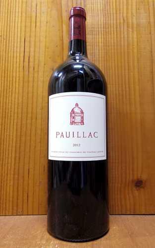 【大型ボトル】ポイヤック ド ラトゥール 2012 メドック グラン クリュ クラッセ格付第一級 (シャトー ラトゥールの3rd的ワイン) マグナムサイズ 赤ワイン ワイン 辛口 フルボディ 1500ml 1.5LPAUILLAC DE LATOUR [2012] MG Chateau Latour