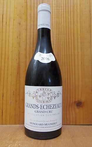 グラン エシェゾー グラン クリュ 特級 2016 ドメーヌ モンジャール ミュニュレ 赤ワイン ワイン 辛口 フルボディ 750ml (モンジャール・ミュニュレ)Grands-Echezeaux Grand Cru [2016] Domaine Mongeard Mugneret