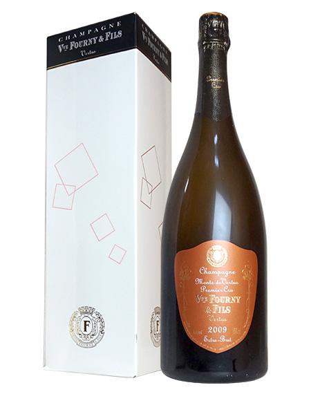 【大型ボトル】ヴーヴ フルニ シャンパーニュ ミレジム 2009 ブラン ド ブラン プルミエ クリュ AOC(ミレジム プルミエ クリュ 1er) シャンパーニュ 正規 箱付 (箱入) ギフト 白 泡 シャンパン スパークリング 1500ml 1.5L