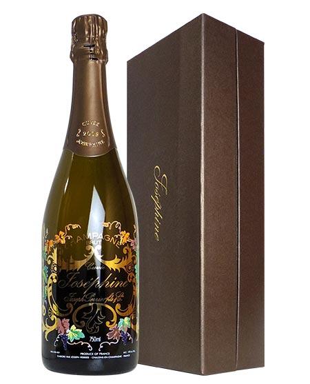 【箱入】ジョセフ ペリエ シャンパーニュ キュヴェ ジョセフィーヌ ブリュット ミレジム 2008 ギフト 箱付 正規 泡 白 シャンパン ワイン 辛口 750ml (ジョセフ・ペリエ)JOSEPH PERRIER Champagne Cuvee Josephine Brut Vintage [2008]