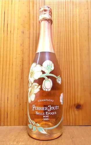 ペリエ ジュエ シャンパーニュ ベル エポック ロゼ ブリュット ミレジメ 2005 フランス 高級 ロゼ 泡 辛口 シャンパーニュ 750mlChampagne PERRIE JOUET Belle Epoque Brut Rose Millesime 2005