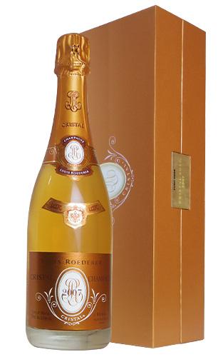 【豪華ギフト箱入】ルイ ロデレール クリスタル ロゼ ヴィンテージ 2007 AOCミレジム ロゼ シャンパーニュ 直輸入品 泡 シャンパン ワイン 辛口 750mlLouis Roederer CRISTAL ROSE Millesime [2007] DX Original Gift Box AOC Millesime Rose Champagne