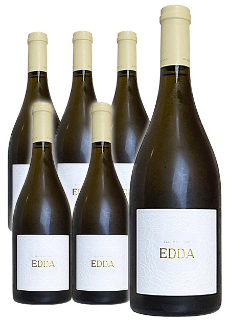 【送料無料 6本セット】エッダ 2017 カンティーネ サン マルツァーノ イタリア 白ワイン ワイン 辛口 750ml 6本ワインセットEDDA [2017] San Marzano Vini S.P.A Salent IGP