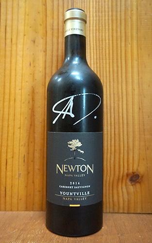 ニュートン シングル ヴィンヤード ヨーントヴィル カベルネ ソーヴィニヨン 2014 正規 ニュートン ヴィンヤード 赤ワイン ワイン 辛口 フルボディ 750mlNEWTON Yountville Single Vineyard Cabernet Sauvignon [2014] Napa Valley 14%