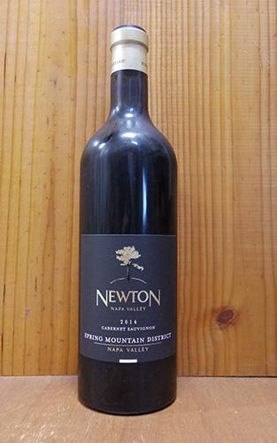 ニュートン シングル ヴィンヤード スプリング マウンテン ディストリクト カベルネ ソーヴィニョン 2014 正規品 (ルイ ヴィトングループ) 赤ワイン ワイン 辛口 フルボディ 750mlNEWTON Spring Mountain District Single Vineyard [2014] Napa Vally