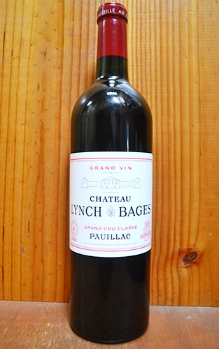 シャトー ランシュ バージュ 2006 AOC ポイヤック グラン クリュ クラッセ メドック格付第5級 フランス ボルドー メドック ポイヤック 赤ワイン 辛口 フルボディ 750mlChateau LYNCH BAGES [2006] Grand Cru Classe du Medoc en 1855