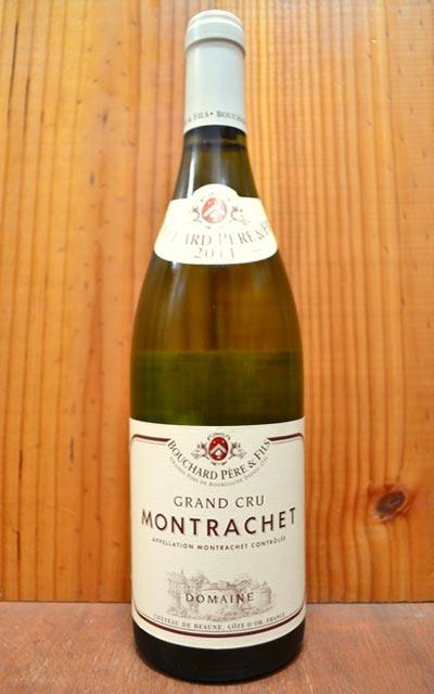 モンラッシェ グラン クリュ 特級 2016 ドメーヌ ブシャール ペール エ フィス 正規 白ワイン ワイン 辛口 750mlMontrachet Grand Cru [2016] Domaine Bouchard Pere & Fils AOC Montrachet Grand Cru